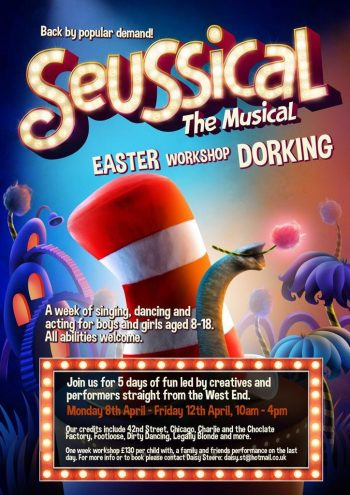 Easter Workshop 8th-12th April – Seussical the Musical